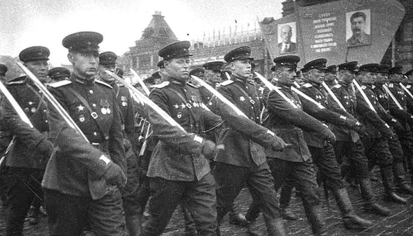 Донские казаки пройдут по Красной площади в память о Параде Победы 1945 года