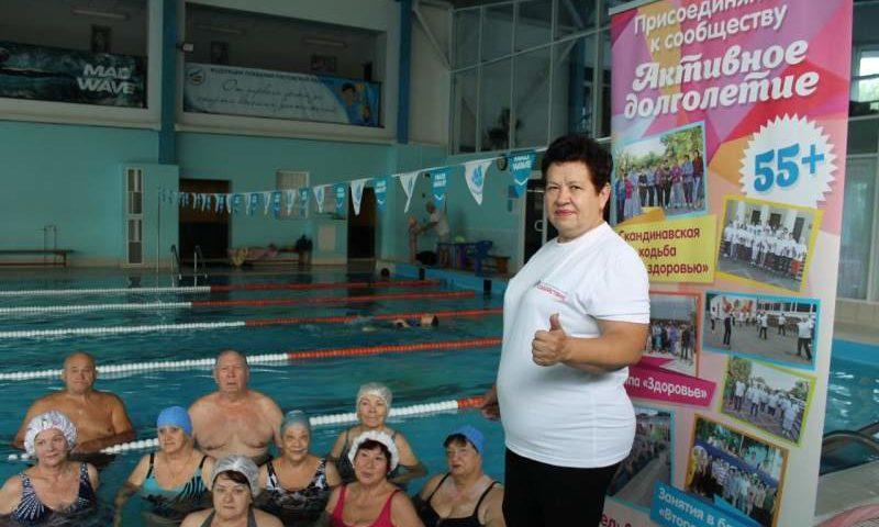 Наталья Кулешова уже два года руководит сообществом «Активное долголетие граждан серебряного возраста»