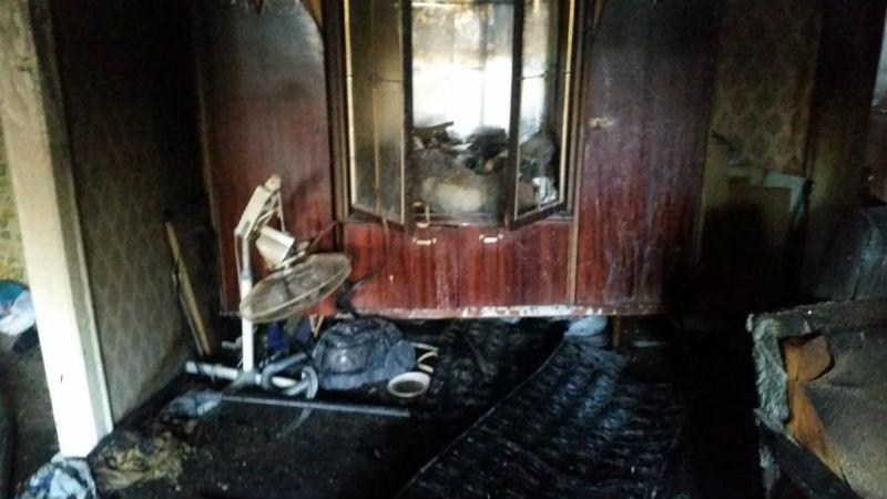 В Шахтах во время пожара погиб 84-летний мужчина