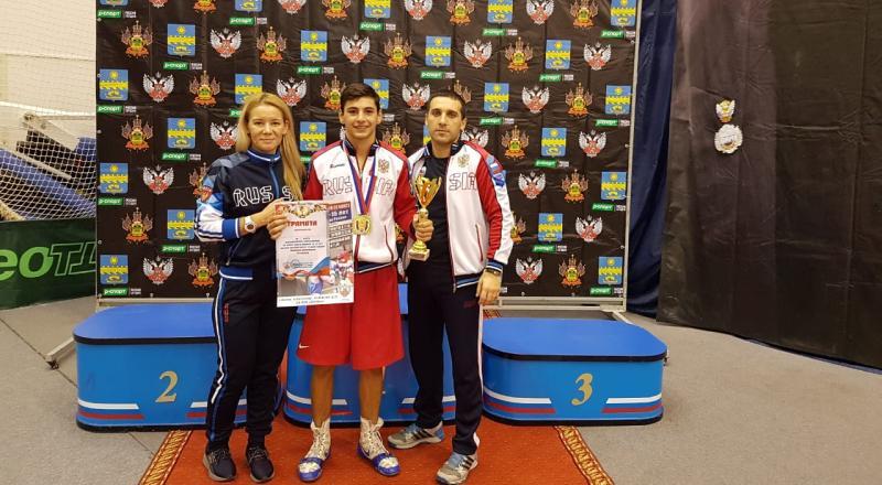 Спартак Геворкян стал победителем Всероссийских соревнований