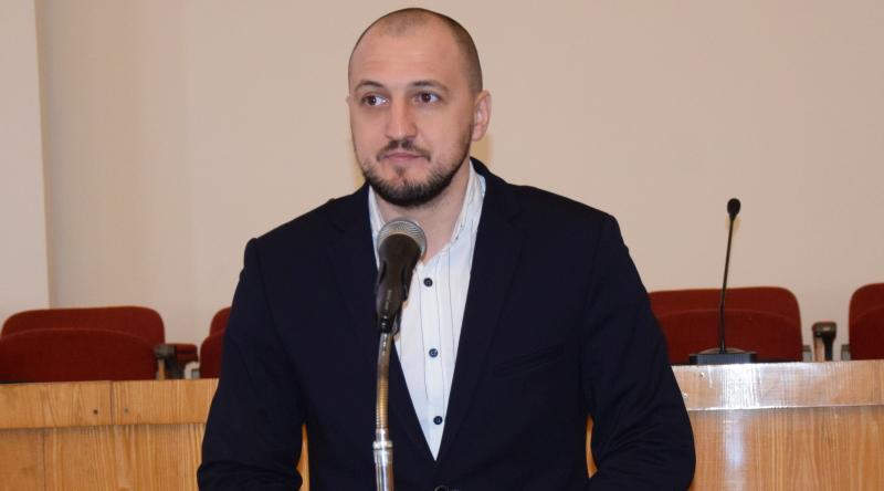 С чего начнет работу новое управление по молодежной и информационной политике рассказал его руководитель Ярослав Стуров