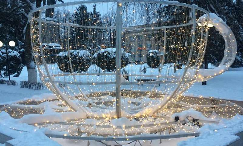 К новогодним праздникам в г. Шахты преобразятся фонтаны