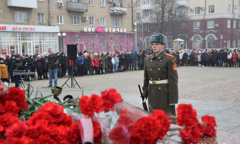 Шахтинцы отметили День Героев Отечества