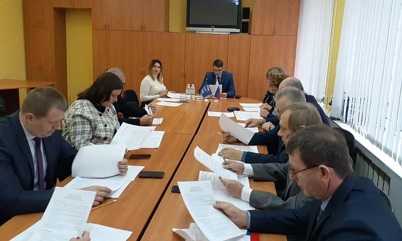 Шахтинские единоросы провели очередное заседание политсовета