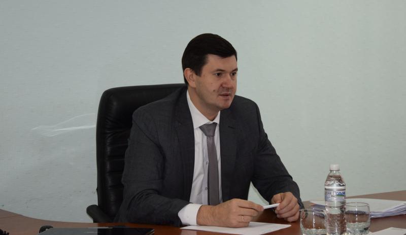 В   Шахтах министр экономического развития Ростовской области провел прием
