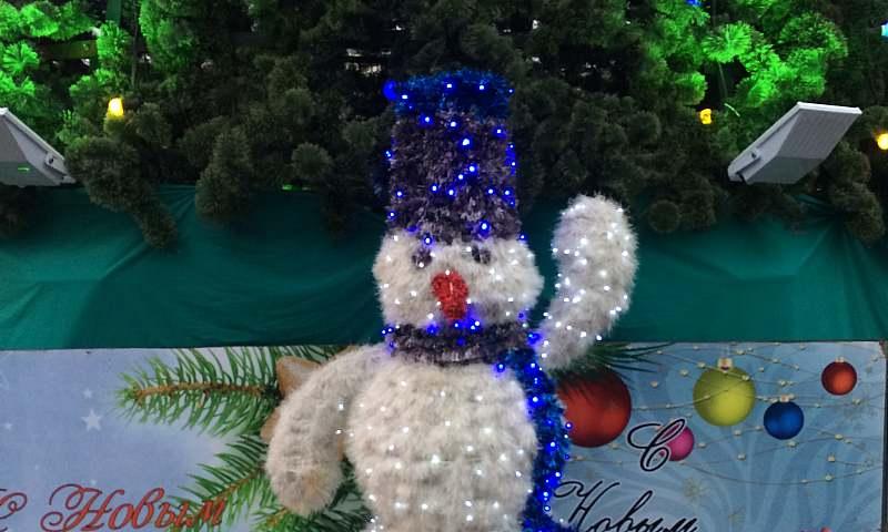 6 января шахтинцев с детьми приглашают на хоровод у новогодней елки