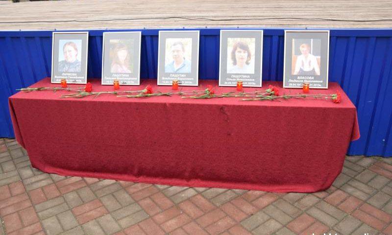 Шахтинцы почтили память погибших от взрыва бытового газа 14 января 2019 года