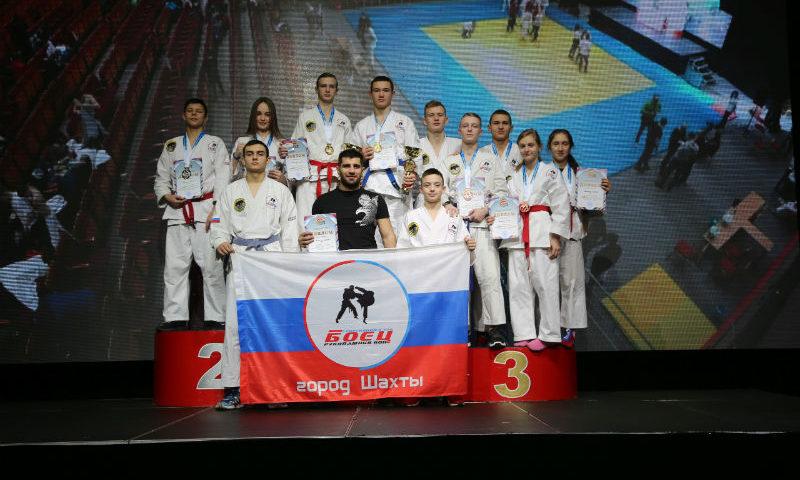 Спортсмены СК «Боец» пополнили свою копилку восьмью медалями