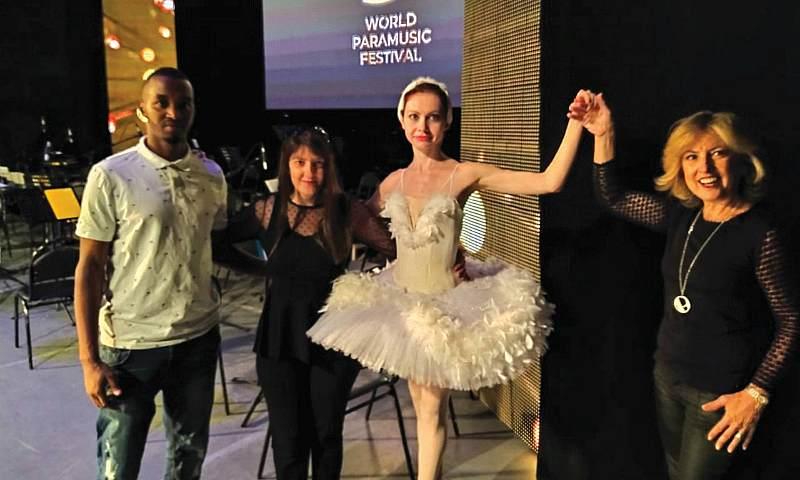 Балерина из Шахт Юлия Покусаева выступила на XI Всемирном парамузыкальном фестивале
