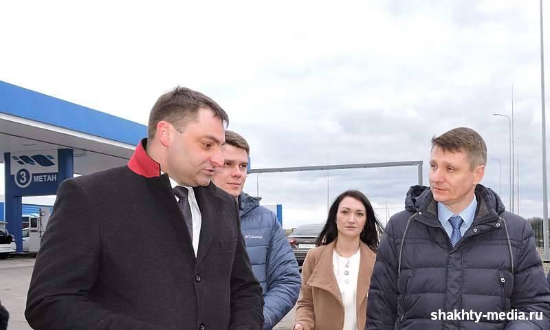 В Шахтах открылась автомобильная газозаправочная станция