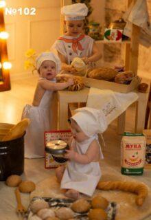 Глеб, Алиса и Матвей Котляровы (6 лет и 1 год)