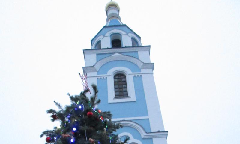 В Шахтах отпраздновали Рождество Христово