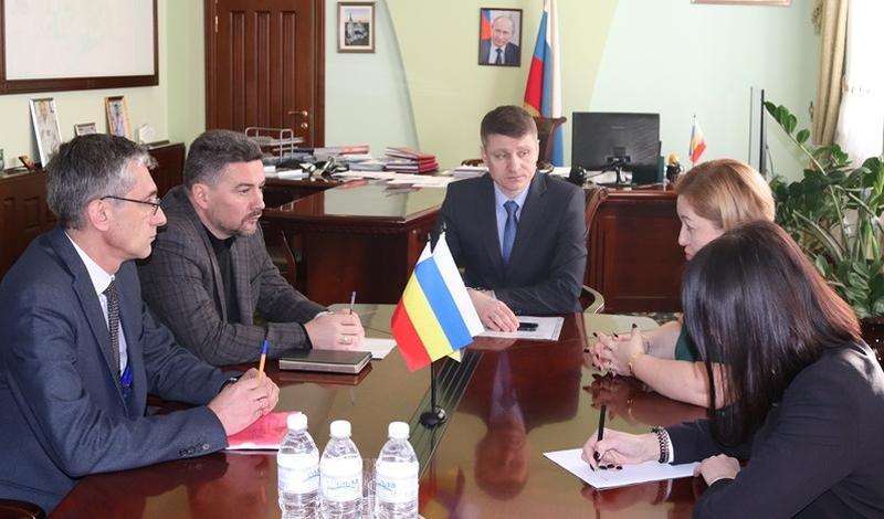 Глава администрации г. Шахты встретился с руководством компании «Экострой-Дон»