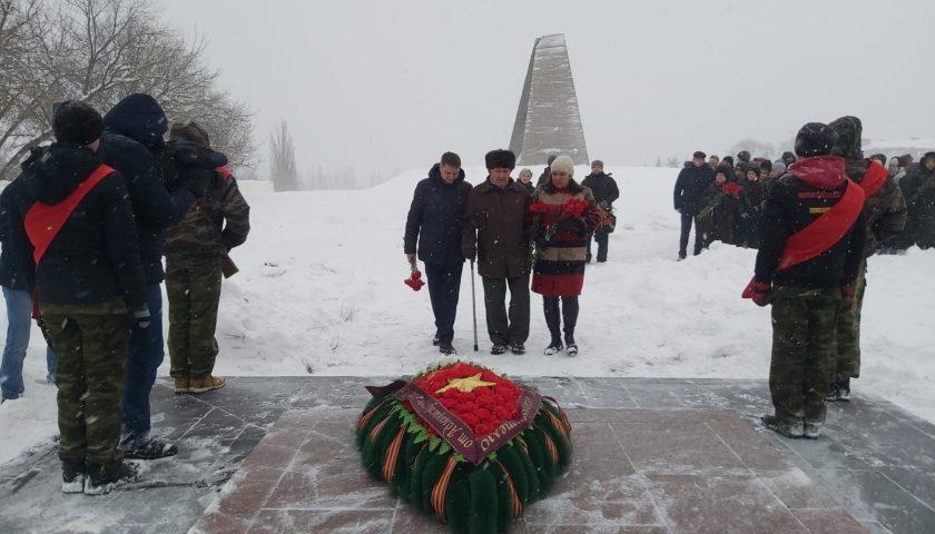 Шахтинцы отметили 77-летие освобождения города (ФОТО, ВИДЕО)