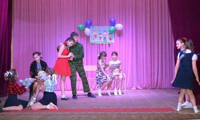 «Мир начинается с детства» – так называется городской фестиваль, который прошел в ГДДТ г. Шахты