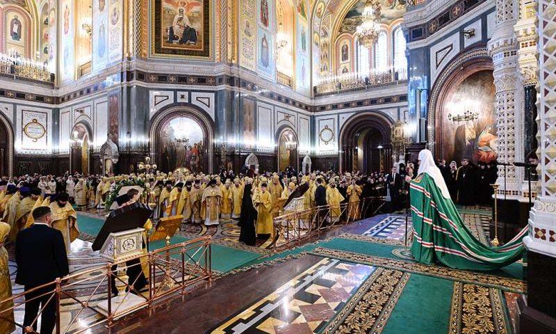 Епископ Симон принял участие в интронизации  Святейшего Патриарха