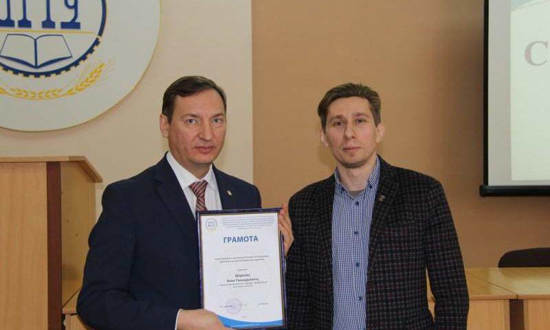 Епархиальный древлехранитель Илья  Шарков награжден в связи с празднованием Дня российской науки