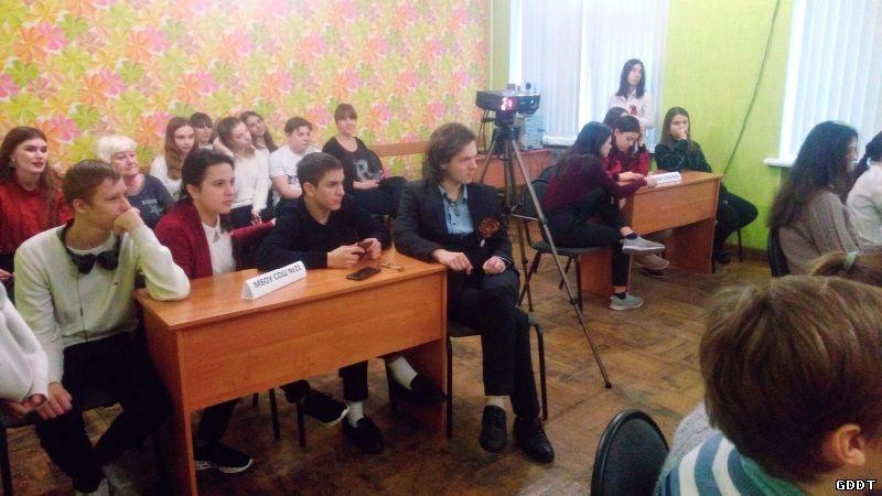 Победителями волонтерской викторины «Освобождение города Шахты» стала команда школы 21