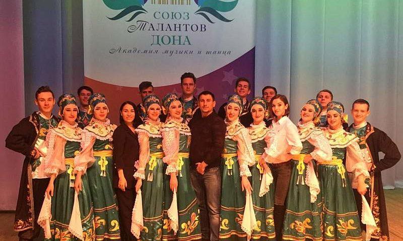 Ансамбль «Надежда» г.Шахты стал обладателем гран-при в номинации «Народный стилизованный танец» в конкурсе «Союз талантов Дона»