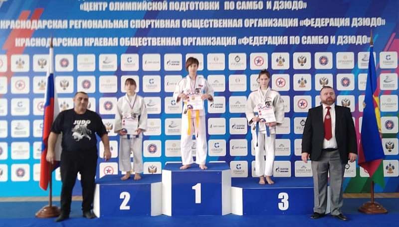 Шахтинская спортсменка Диана Демиденко заняла 3 место на первенстве ЮФО по дзюдо