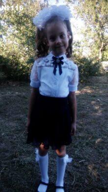 Викуля Гайворонская, 7 лет
