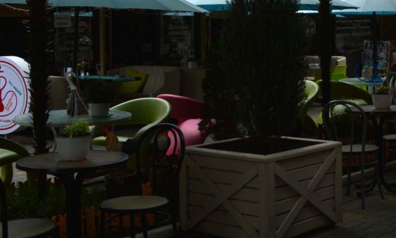 В Шахтах формируется схема размещения летних кафе