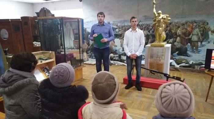 В Шахтинском краеведческом музее вспомнили подвиги юных героев-антифашистов