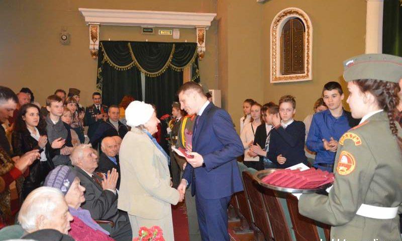 Шахтинские ветераны награждены памятными медалями (ФОТО, ВИДЕО)