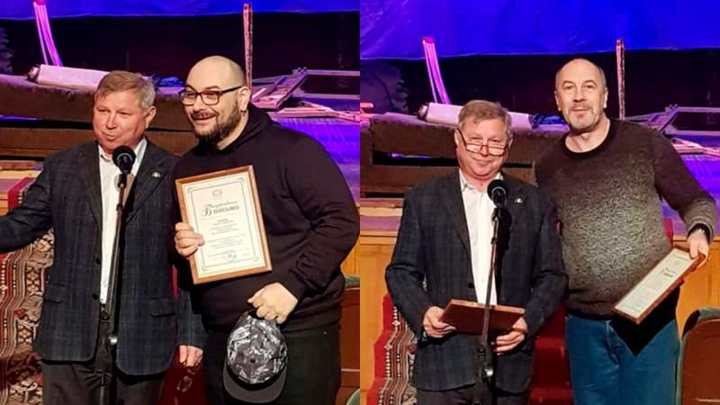 Два шахтинских актера награждены Благодарственными письмами губернатора Ростовской области