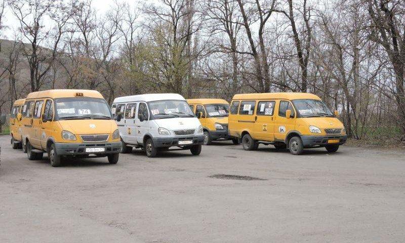 В Шахтах вводятся временные маршруты движения пассажирского транспорта