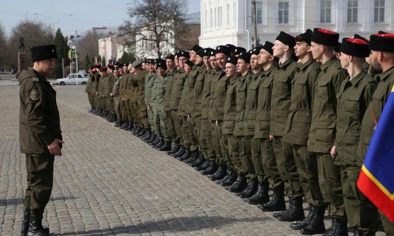 Казаки Всевеликого войска торжественно отправились в Москву для подготовки к Параду Победы на Красной Площади