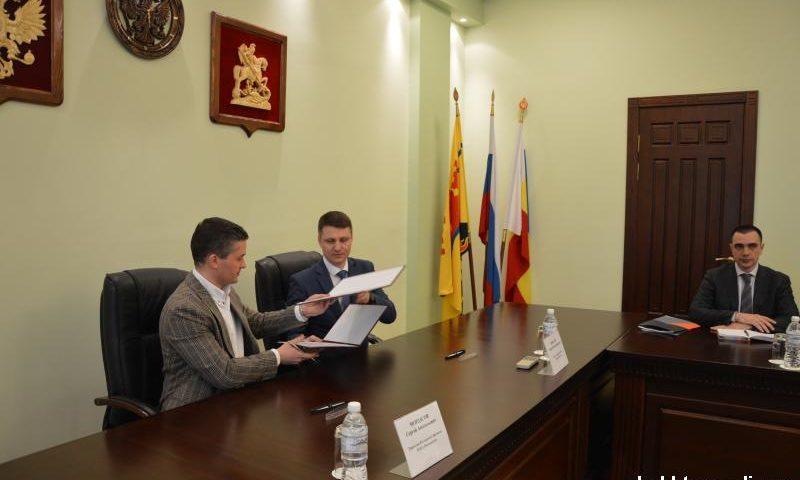 Администрация г. Шахты  подписала соглашение о сотрудничестве с ПАО «Ростелеком»