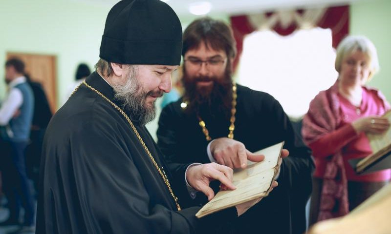 Епископ Симон принял участие в мероприятии, посвященном Дню православной книги