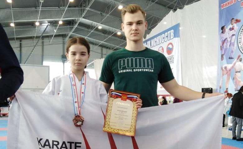 Шахтинская  каратистка Виктория Ряднова стала призером  первенства ЮФО