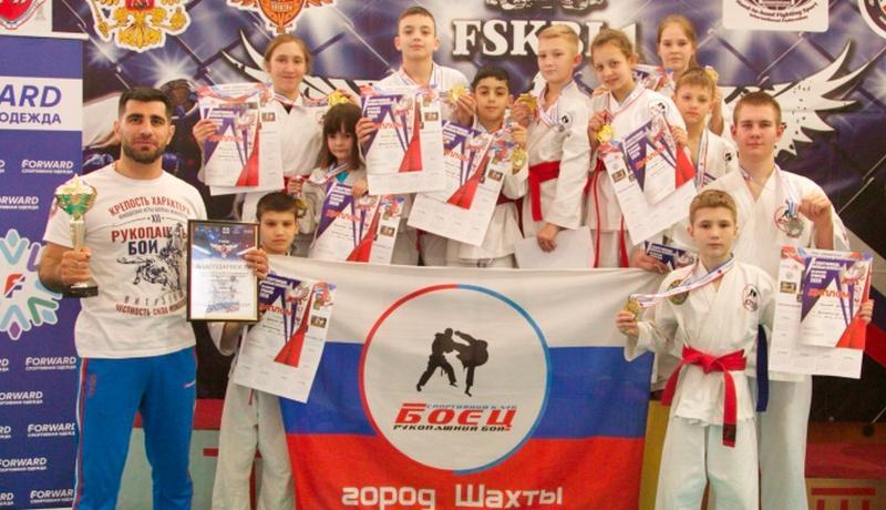 СК «Боец» завоевал 11 медалей на республиканских соревнованиях по рукопашном бою