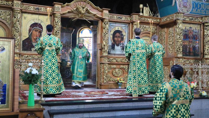 Шахтинцы празднуют Вербное воскресенье [ВИДЕО]
