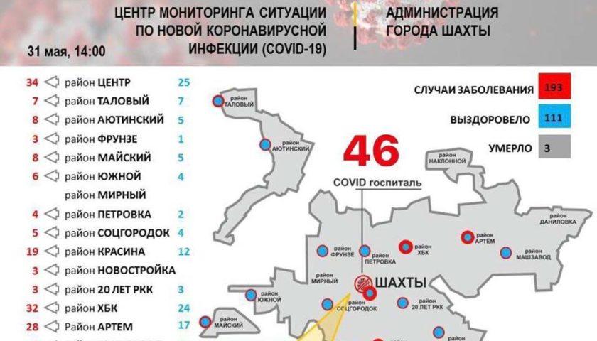 27 пациентов Шахтинского психоневрологического диспансера заболели коронавирусом