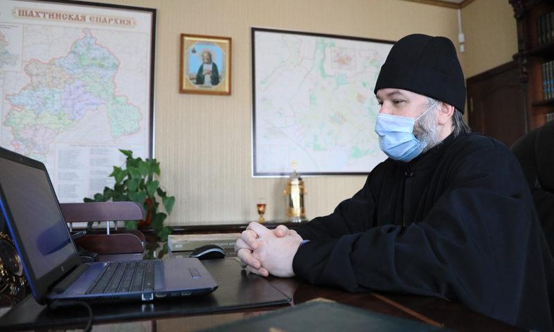 Шахтинская епархия готовится к постепенному выходу из самоизоляции
