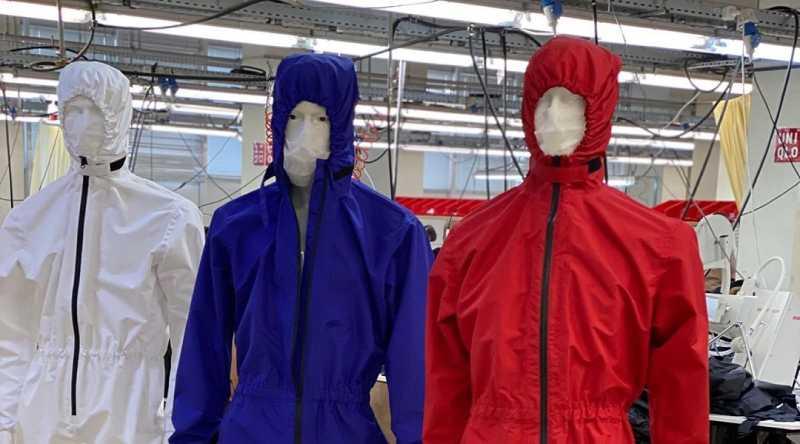 В городе Шахты производят защитные медицинские костюмы для врачей ковидных госпиталей Ростовской области