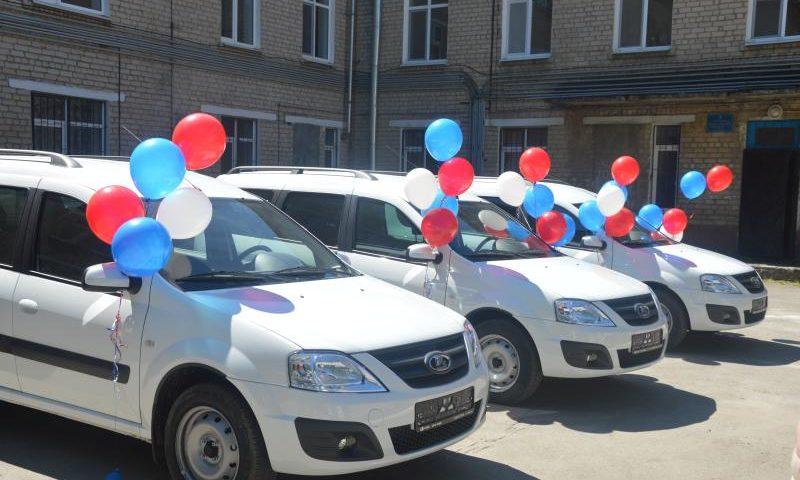 Медицинские учреждения города Шахты получили новые автомобили