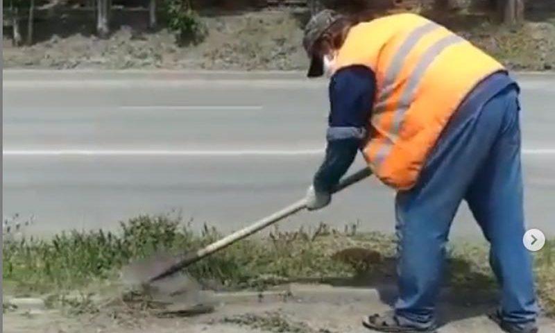 Продолжаются работы по благоустройству города