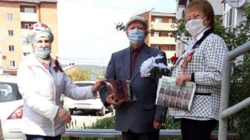 В Шахтах прошла акция «Визиты почета к ветеранам войны»