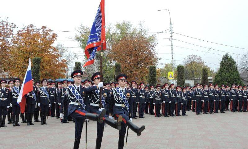 10 шахтинских кадет стали победителями и призерами областного конкурса