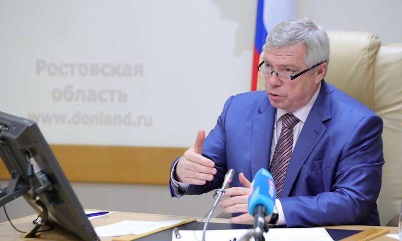 Получение мер поддержки на Дону находится под личным контролем губернатора