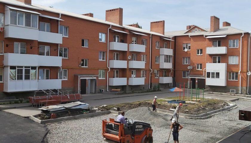 Дома на улицах Достоевского и Хомякова г.Шахты планируется достроить в четвертом квартале