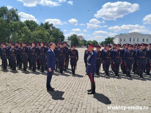 Шахтинцы поделились впечатлениями от участия в Параде Победы