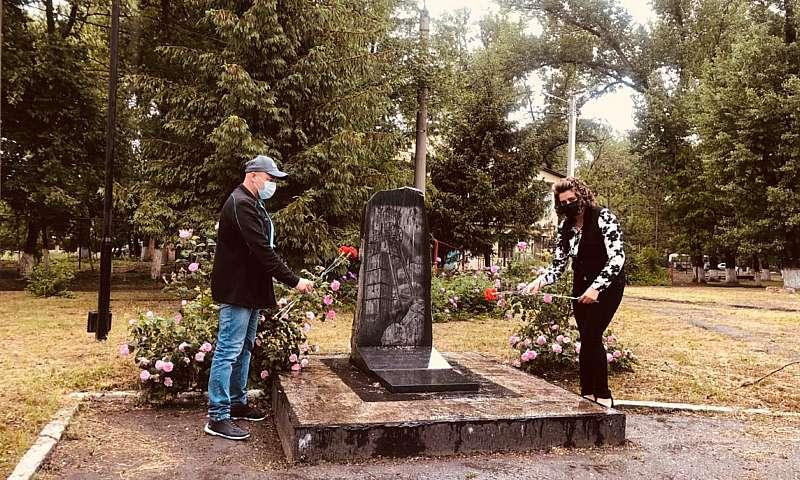 В поселке Майский г.Шахты почтили память погибших шахтеров