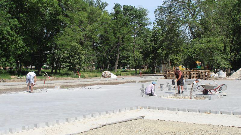 В Александровском парке продолжается реконструкция [ФОТО, ПАНОРАМА 360]