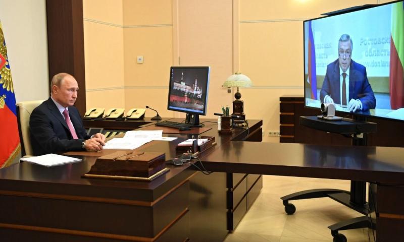 Президент поддержал выдвижение Василия Голубева на предстоящих выборах губернатора Ростовской области