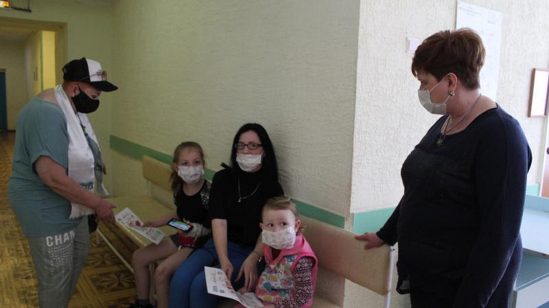Пациенты Детской городской больницы получили свежий номер ШАНСа в День защиты детей